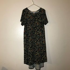 Lularoe gorgeous size large flora dress
